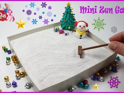 DIY How To Make A Miniature Zen Garden | 3D Modeling Creation for Christmas