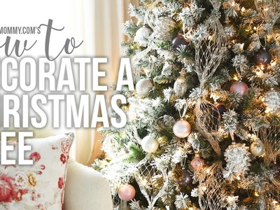 How to Decorate a Christmas Tree. CHRISTMAS DIY + DECOR CHALLENGE