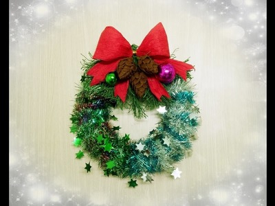 How To Make A Christmas Ornaments Wreath - Craft Tutorial