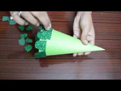 How to make christmas tree. Christmas craft.easy to make christmas tree