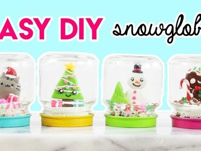 How to Make DIY Snowglobes!