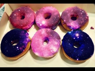How to Make Yummy Galaxy Donuts at Home