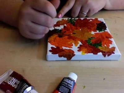 Speed Painting - Fall Colours