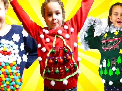 DIY UGLY Christmas Jumper For Save The Children Christmas Jumper day!