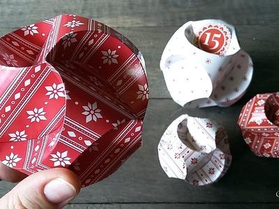 Hattifant - Christmas PATTERNS Triskele Paper Globe: TUTORIAL