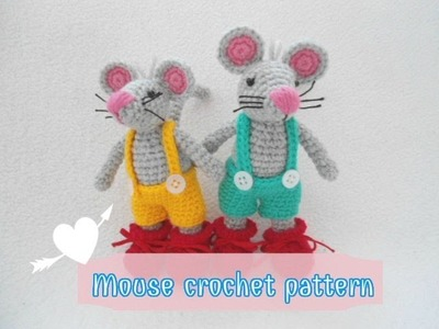 How to crochet sweet Mouse