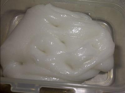 Miss You Slime! HOW TO MAKE METALIC SLIME w.o METALIC POWDER[IND]