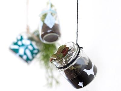 DIY: Decorations with foil by Søstrene Grene