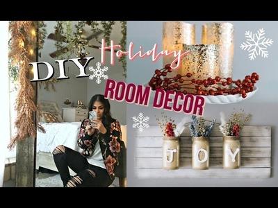 DIY Holiday + Christmas Room Decor