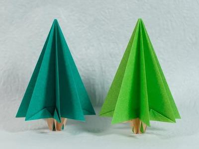 Easy Origami Christmas Tree Tutorial (Henry Phạm)