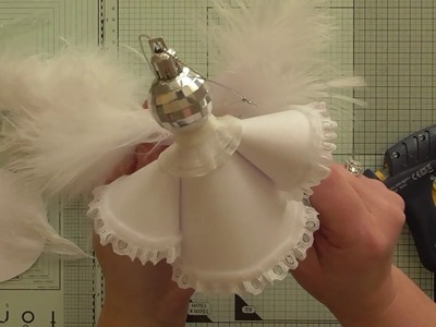 Easy paper cone angel tutorial