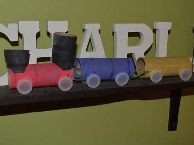 How to make a Train |Como Hacer un Tren