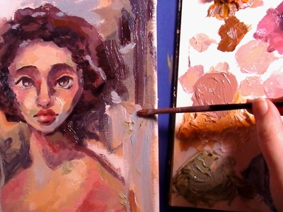 PAINTING with Oils: Eleanor