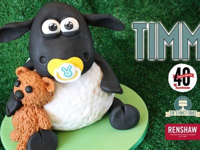 Timmy the sheep 3D cake from Shaun the Sheep and Timmy Time
