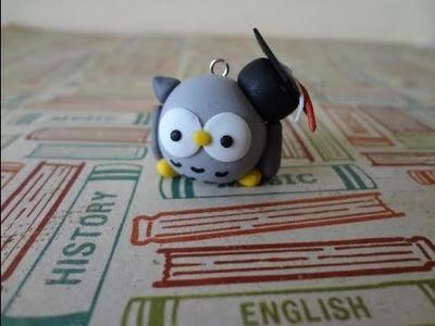 Tutorial On How To Make a Graduation Owl Charm
