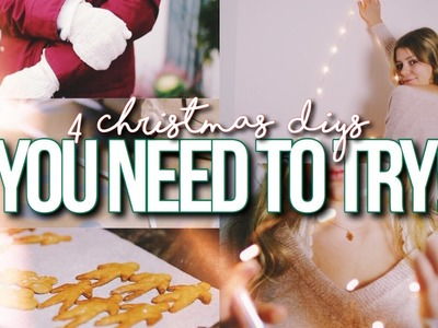 4 CHRISTMAS & HOLIDAY DIY'S YOU NEED TO TRY 2016!