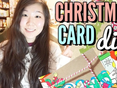 Christmas Card DIY ❖ Easy & Affordable
