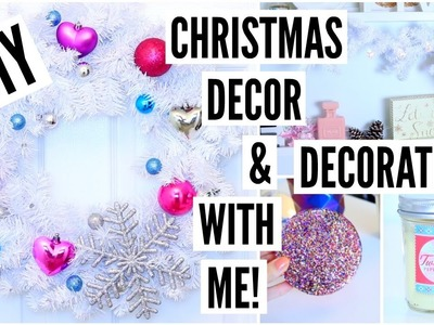DIY Christmas Decorations + Decorate With Me!