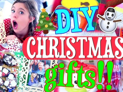 DIY Christmas Gifts!! | How to Make EASY Christmas Presents FAST!!