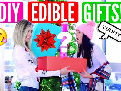 DIY EDIBLE GIFT IDEAS! DIY Christmas & Birthday Gifts For Friends & Family
