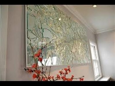 DIY: Mirrored Mosaic Wall Art! DIY Wall Decor (EASY & CHEAP) 2016 Xmas Christmas