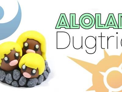 How to DIY Alola Dugtrio Pokemon Clay Tutorial