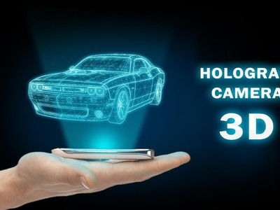 How to make 3D hologram with phone