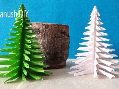 HOW TO MAKE CHRISTMAS TREE WITH PAPER