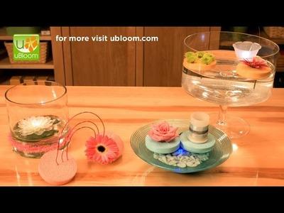 How to make Floating Flower Arrangements!
