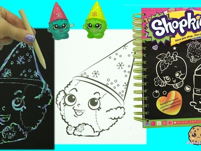 Shopkins Sketch Surprise Scratch Drawing Art Book Scratching Frozen Season 1 SPK