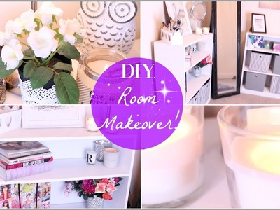 CLEAN WITH ME | DIY Office.Beauty Room Makeover |