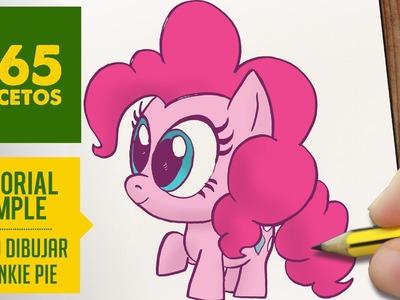 COMO DIBUJAR A PINKIE PIE PASO A PASO - Dibujos kawaii faciles - How to draw Pinkie Pie