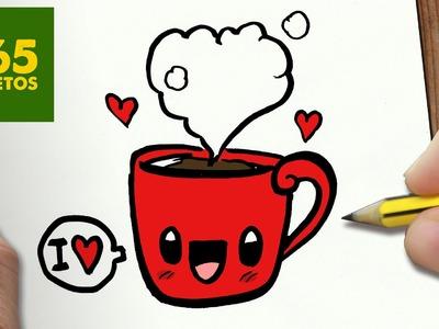COMO DIBUJAR CHOCOLATE KAWAII PASO A PASO - Dibujos kawaii faciles - How to draw a Chocolate