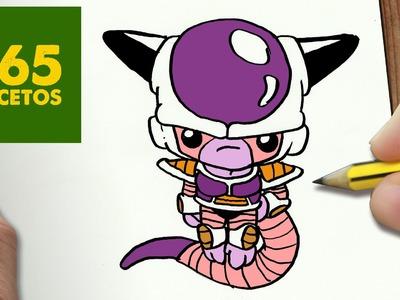 COMO DIBUJAR FREEZER KAWAII PASO A PASO - Dibujos kawaii faciles - How to draw a freezer