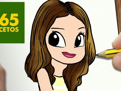 COMO DIBUJAR RUTHI SAN KAWAII PASO A PASO - Dibujos kawaii faciles - How to draw Ruthi San