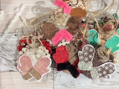 Cute on Cute Christmas Tags, Ornaments or Embellishments: Stamps of Life: Mittens 2 Stamp