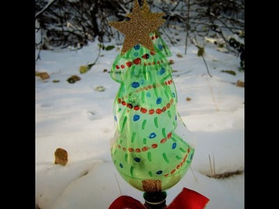 Recycled Soda Bottle Christmas Tree ~ Featuring Miriam Joy