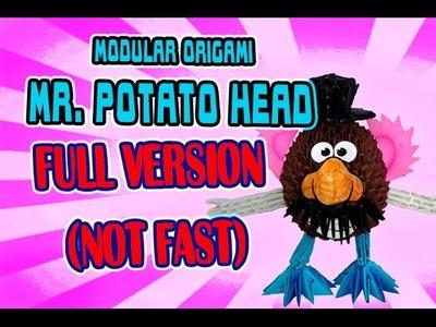 3D MODULAR ORIGAMI #48 Mr. POTATO HEAD FULL VERSION (NOT FAST)