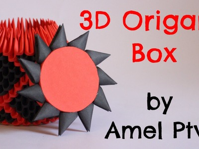 How To: 3D Origami Box - Model 2