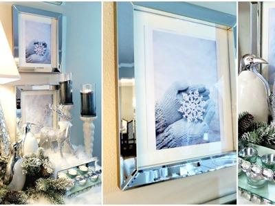 NEW! DIY Christmas Winter Wonderland Wall Art Decor