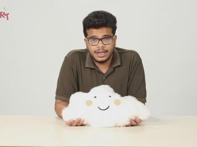 How to Make A Cloud Pillow | DIY art & craft videos for kids from SMART