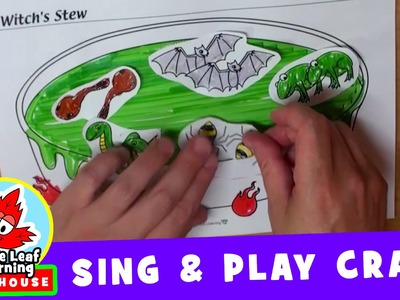 Witch's Stew Halloween Craft | Sing and Play Craft for Kids | Maple Leaf Learning Playhouse