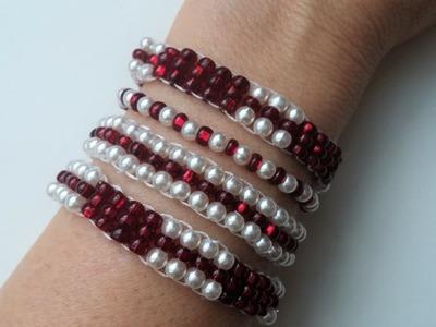 4 super easy bracelets , great for beginners. Bracelet jewelry projects