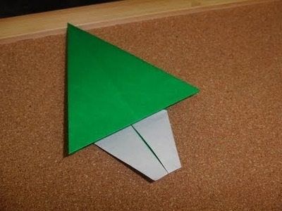 Daily Origami:  153 - Christmas - Tree 01