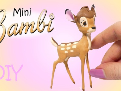 Disney's Bambi Inspired Tutorial. Miniature DIY + NEW CHANNEL