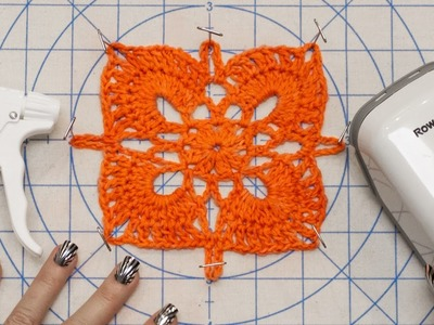 DIY Blocking Tutorial - How to Block Knit and Crochet Handmade Items