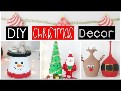DIY ROOM DECOR - Easy & Inexpensive Ideas Winter Edition!