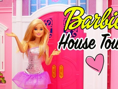 Dollhouse Tour! - Kid-friendly Review of Barbie Life in the Dreamhouse Mansion