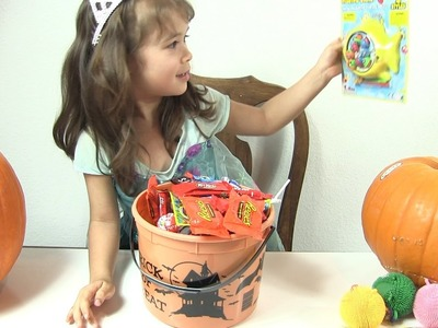 Halloween Trick-or-Treat Candy Surprise With Peanut by Rainbow Collector