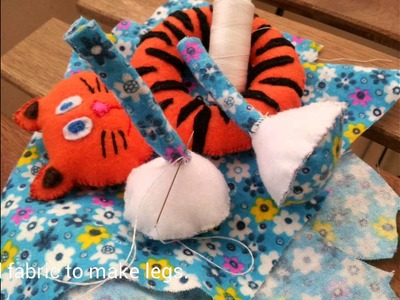 How to make a soft ring toy for babies.